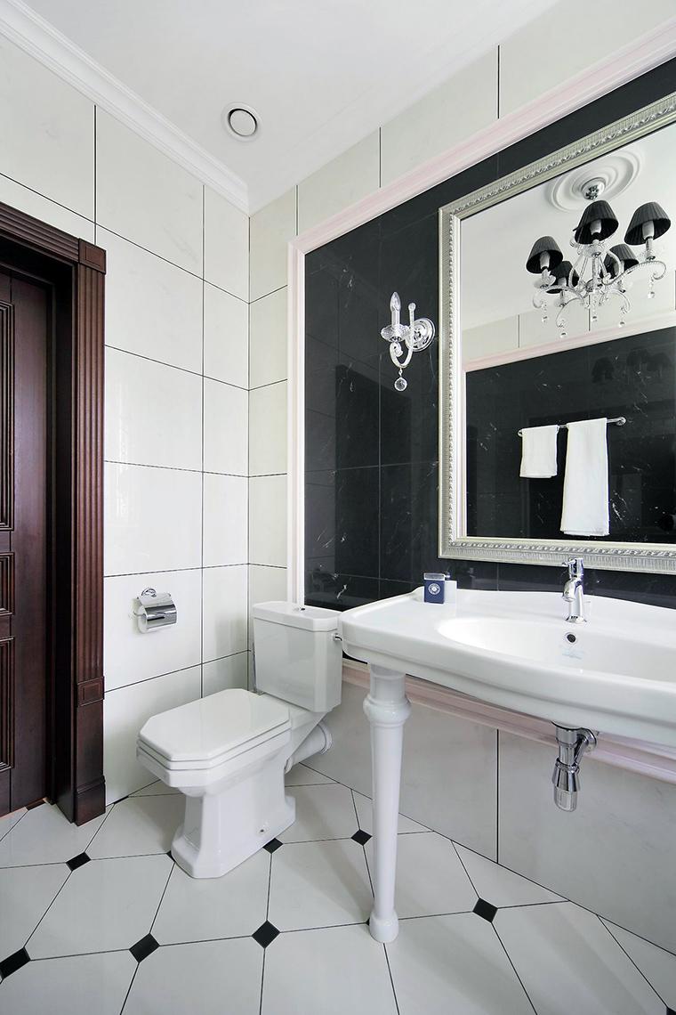 Фото № 61476 ванная  Загородный дом