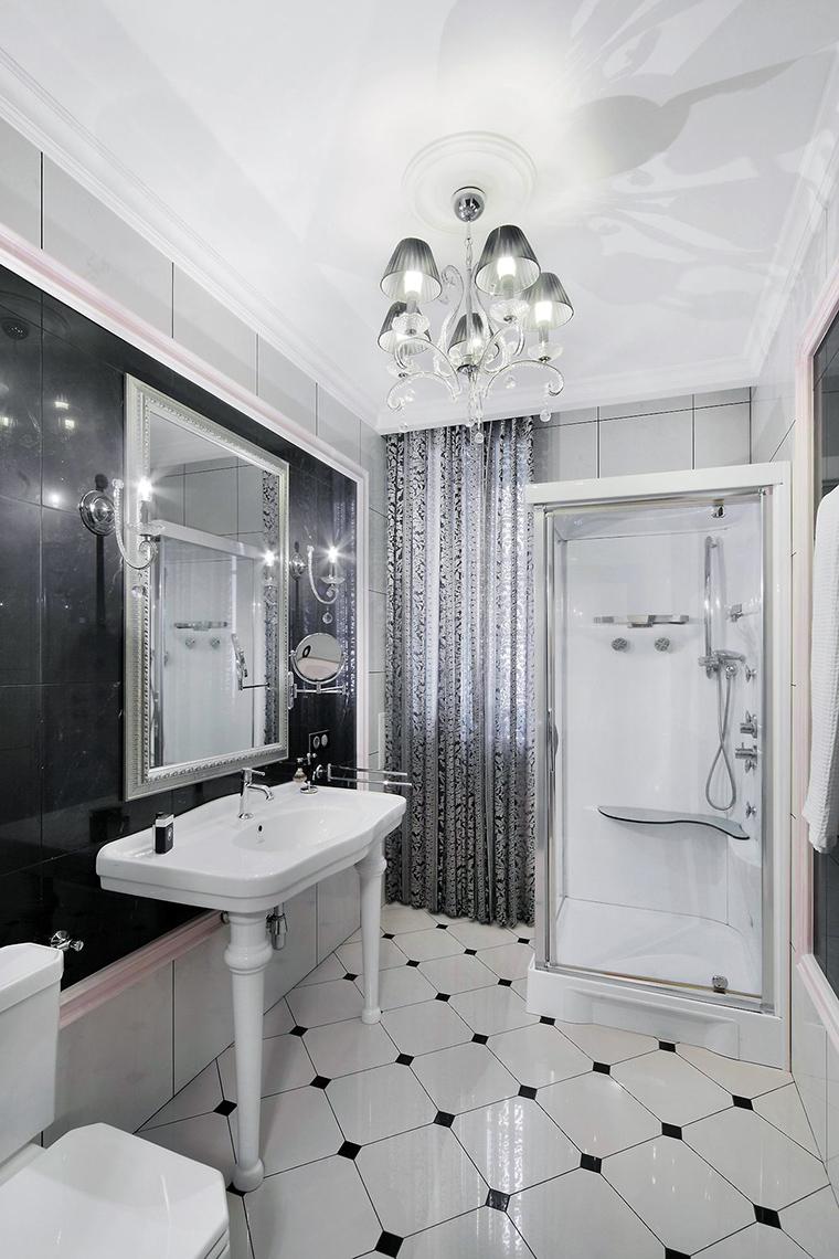 Фото № 61477 ванная  Загородный дом