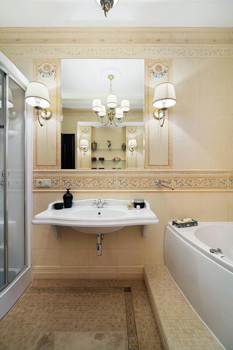 Фото № 61475 ванная  Загородный дом