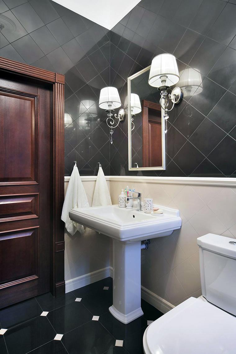 Фото № 61472 ванная  Загородный дом