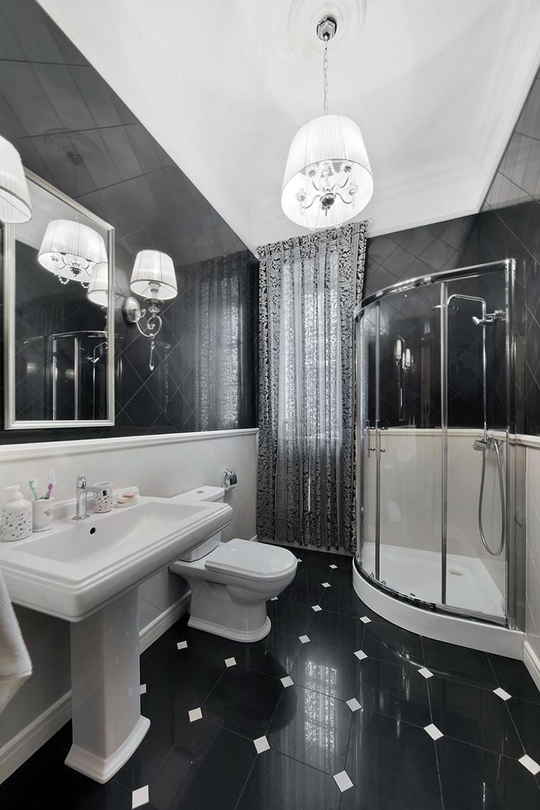 Фото № 61473 ванная  Загородный дом