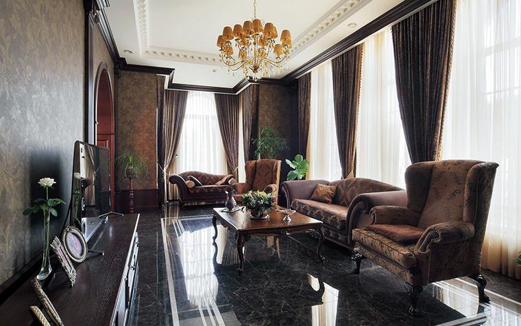 интерьер гостиной - фото № 61492
