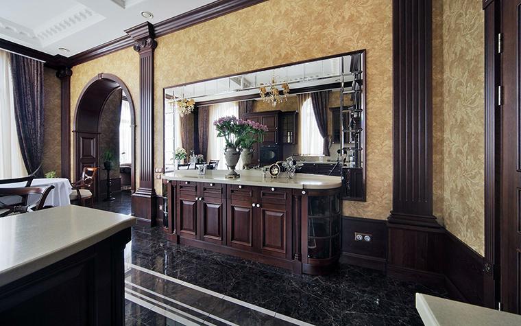 Фото № 61488 кухня  Загородный дом