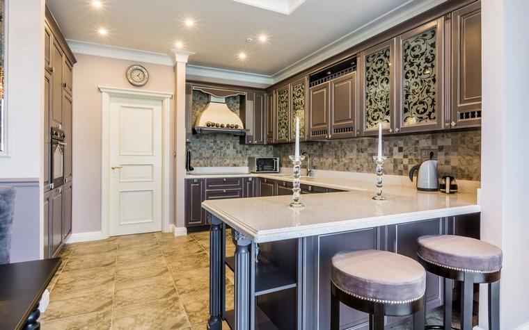 Фото № 61959 кухня  Загородный дом