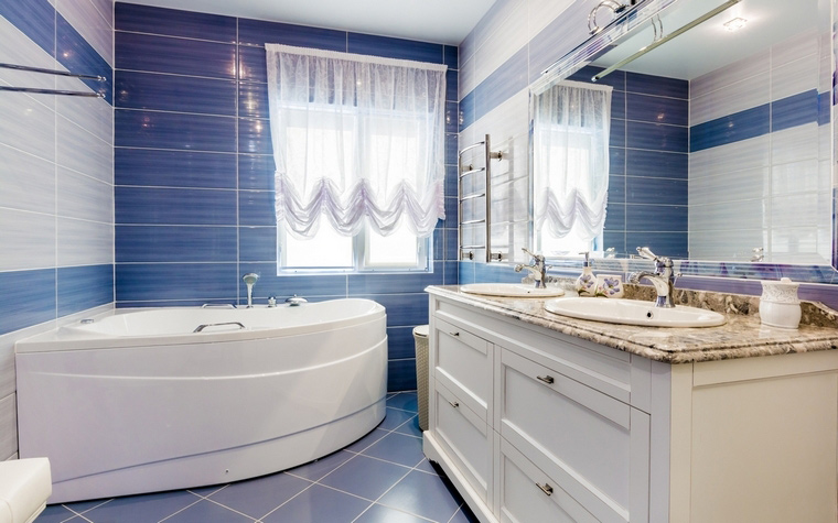 Загородный дом. ванная из проекта , фото №61973