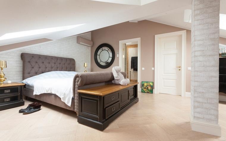 Фото № 62501 спальня  Загородный дом