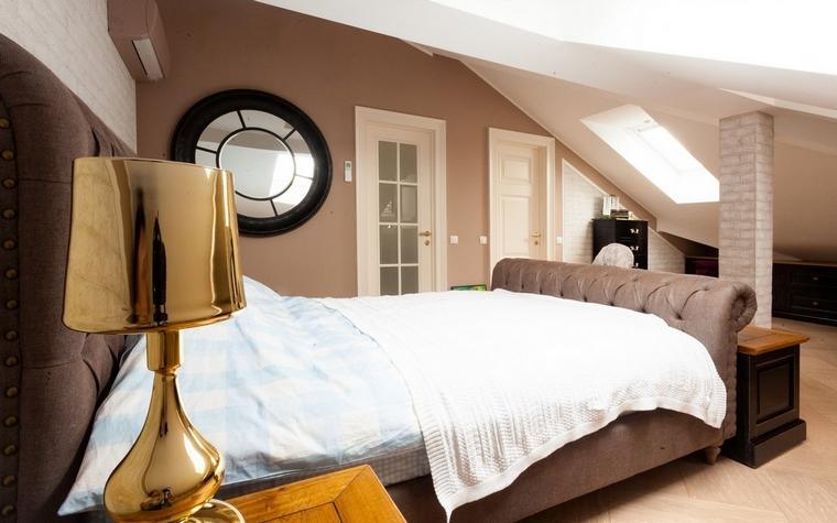 Фото № 62502 спальня  Загородный дом