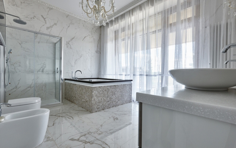 Фото № 62553 ванная  Загородный дом