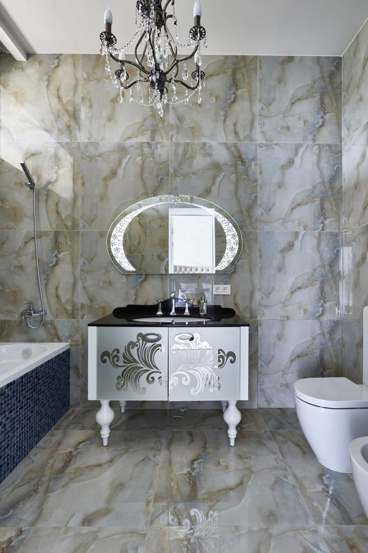 Фото № 62555 ванная  Загородный дом