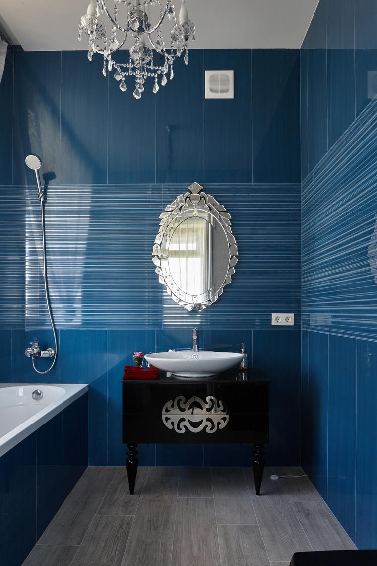 Фото № 62556 ванная  Загородный дом