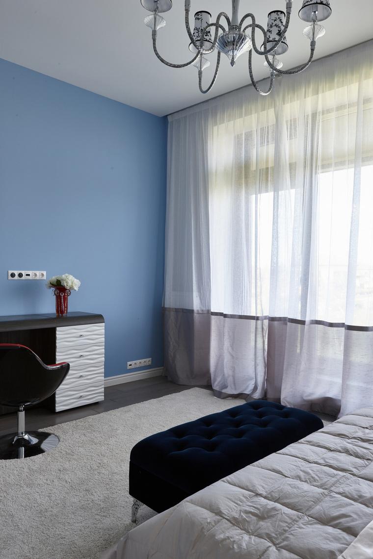 Фото № 62543 спальня  Загородный дом