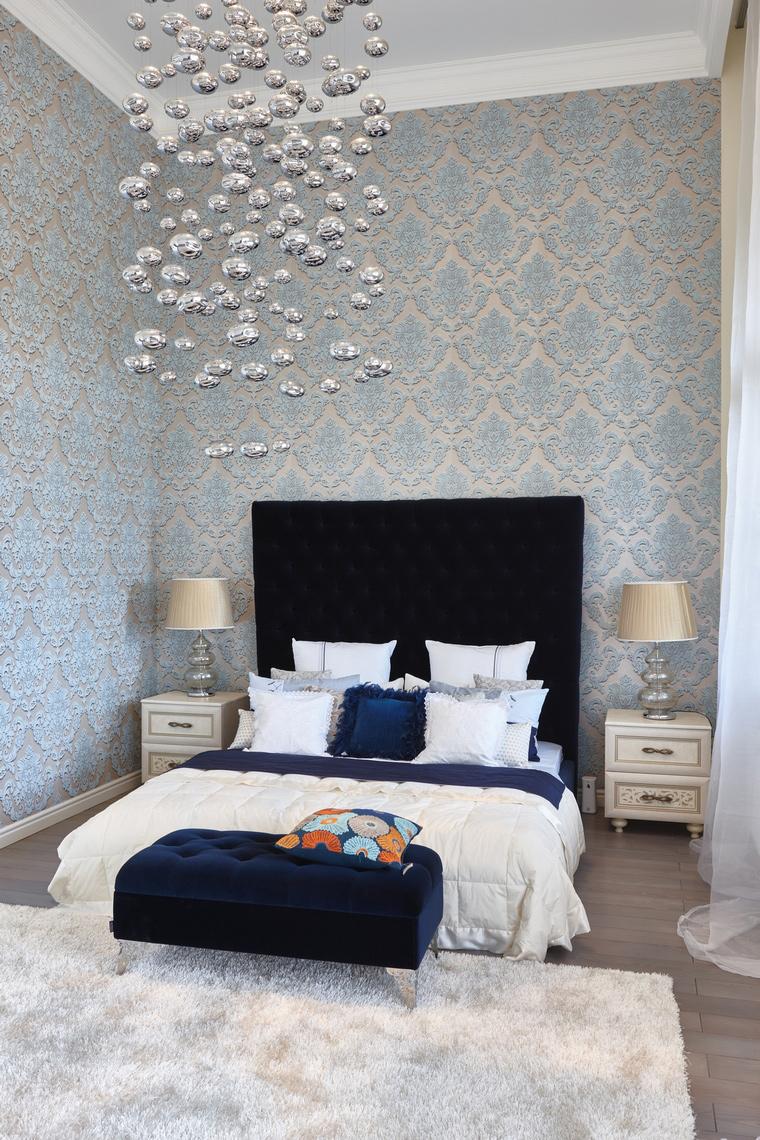 Фото № 62588 спальня  Загородный дом