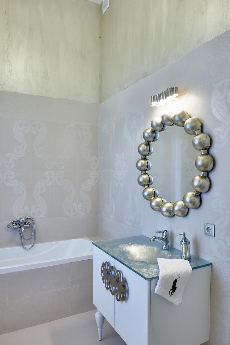 Фото № 62594 ванная  Загородный дом