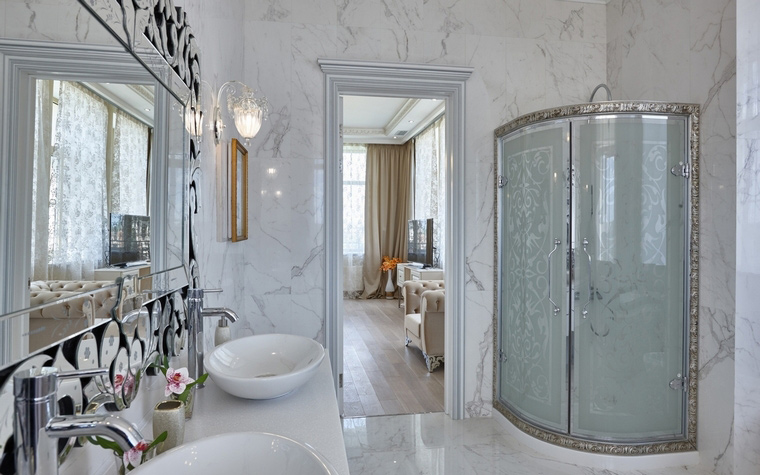 Фото № 62593 ванная  Загородный дом