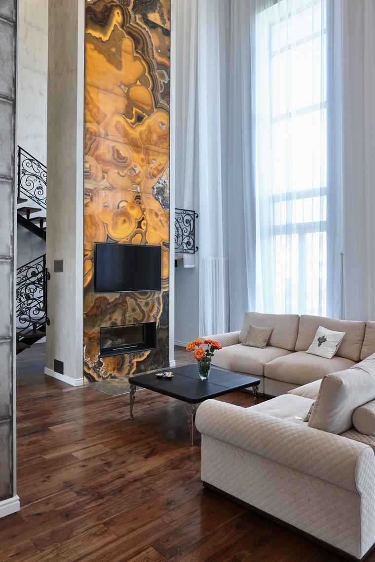 интерьер гостиной - фото № 62572
