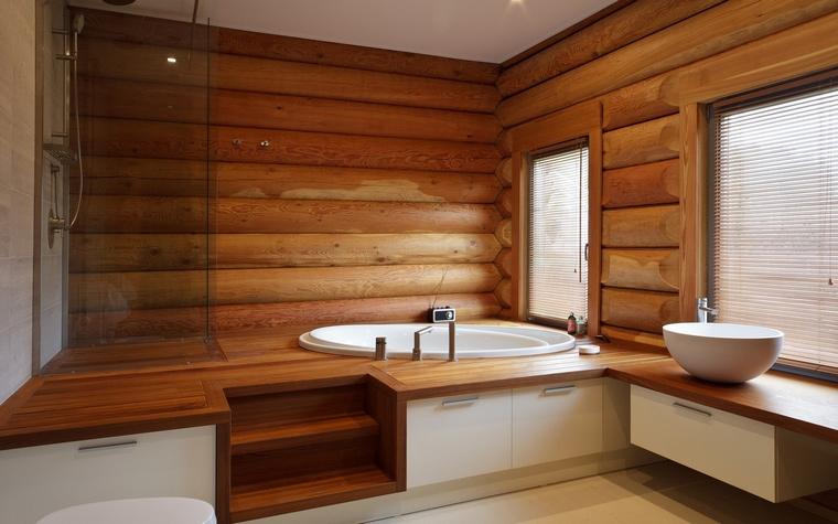 Фото № 62669 ванная  Загородный дом