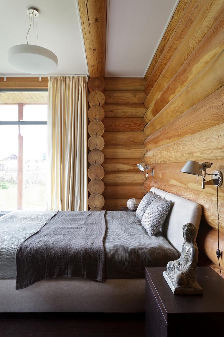 Фото № 62668 спальня  Загородный дом