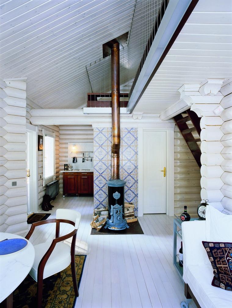 Фото № 62675 столовая  Загородный дом