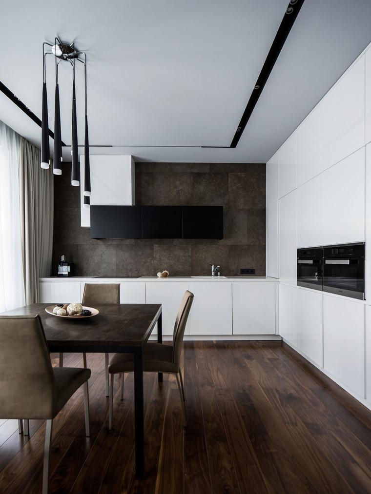 Фото № 62798 кухня  Квартира