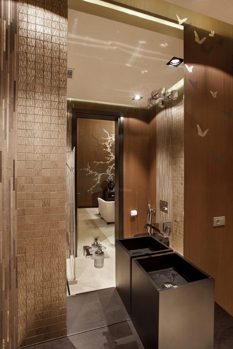 Фото № 62842 ванная  Загородный дом