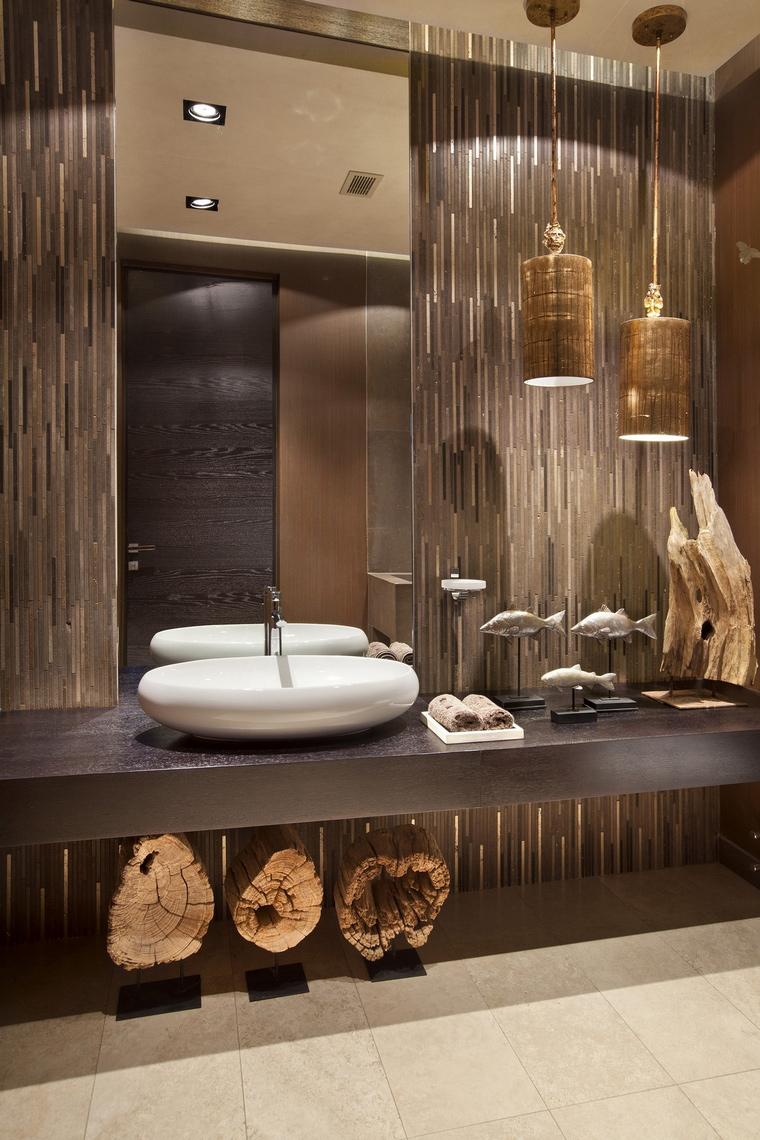 Фото № 62843 ванная  Загородный дом