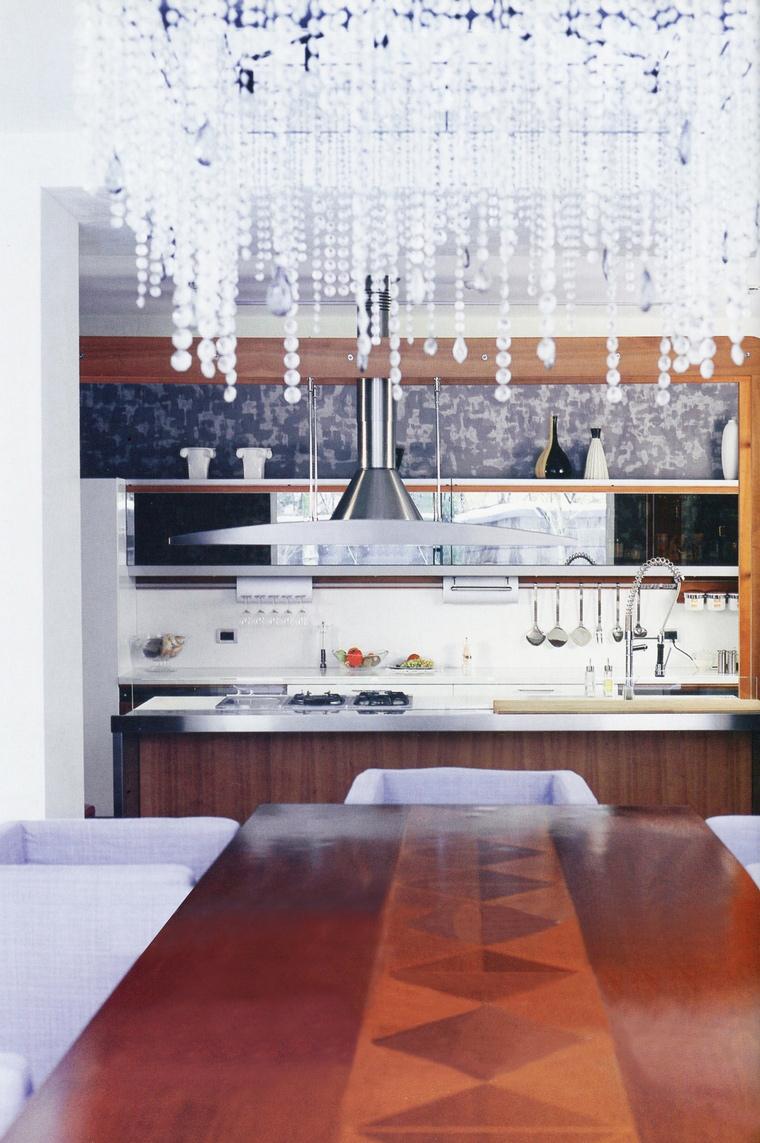 Фото № 62882 кухня  Загородный дом