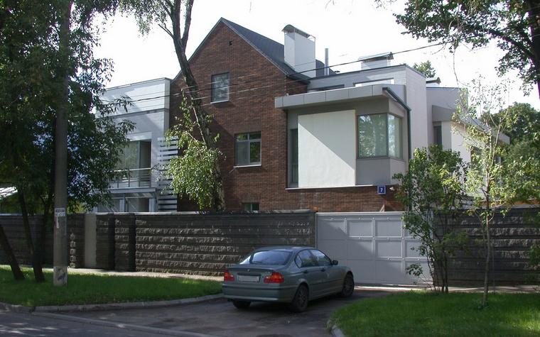 Фото № 62876 фасад  Загородный дом