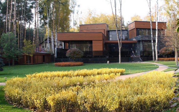 Примеры и фото красивых коттеджей, домов