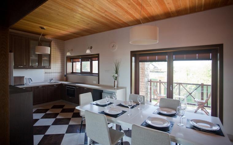 Фото № 62995 кухня  Загородный дом