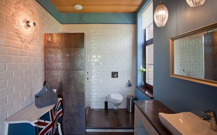 Фото № 62997 ванная  Загородный дом