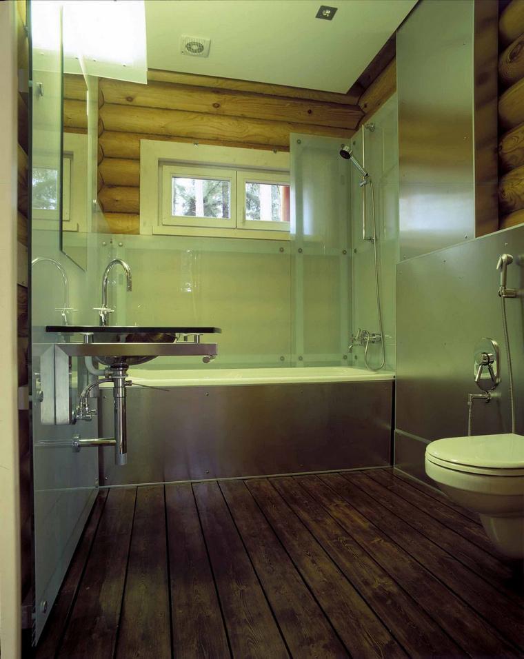 Фото № 63112 ванная  Загородный дом