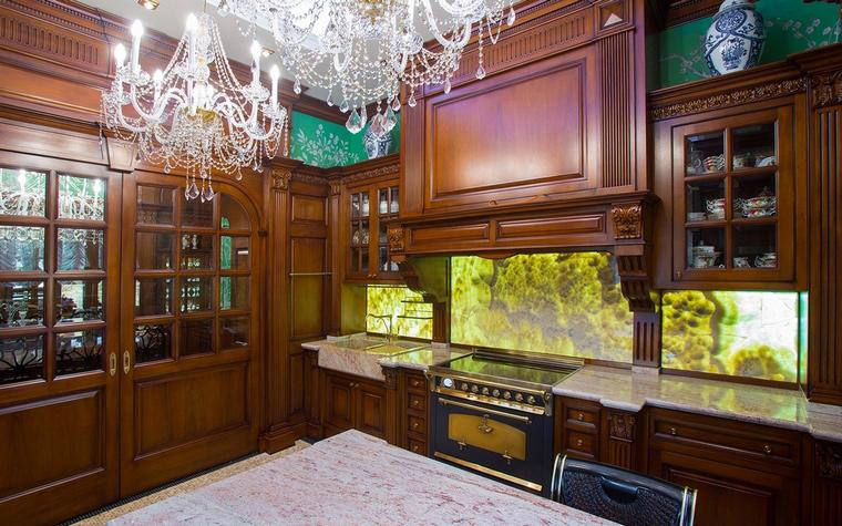 Фото № 63241 кухня  Загородный дом