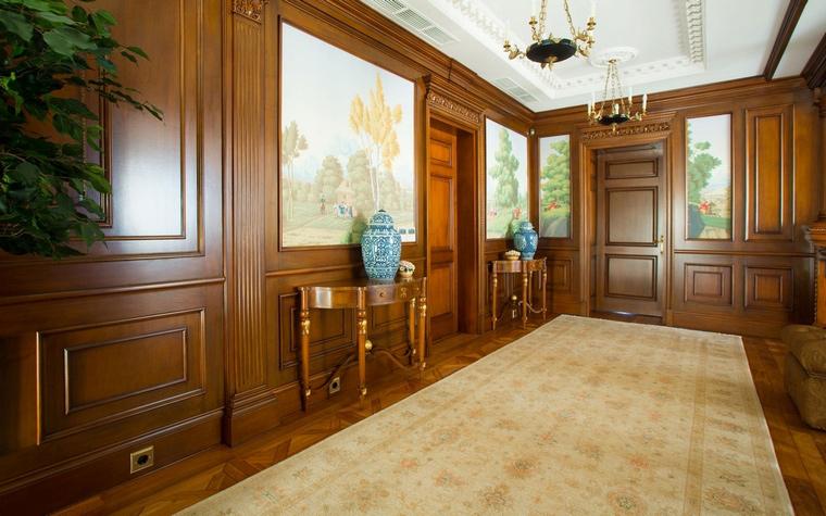 Загородный дом. холл из проекта , фото №63252