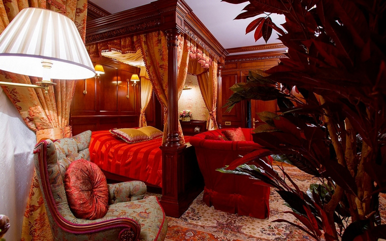 интерьер спальни - фото № 63248