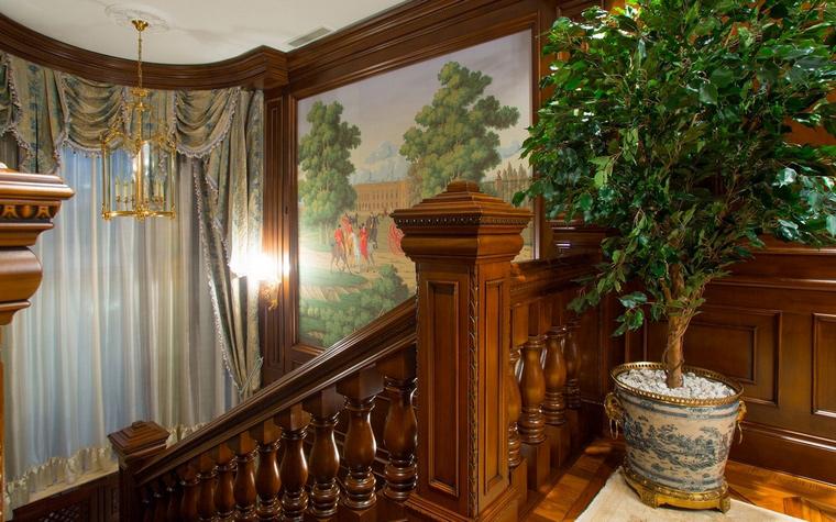 Загородный дом. холл из проекта , фото №63253
