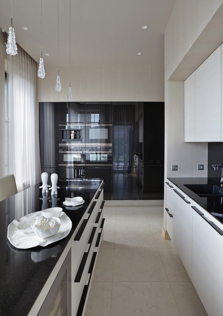 Загородный дом. кухня из проекта , фото №63423