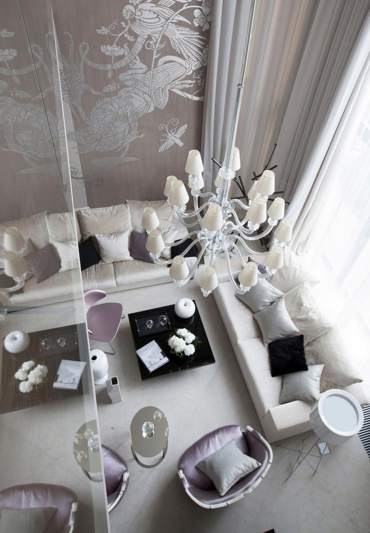 интерьер гостиной - фото № 63420
