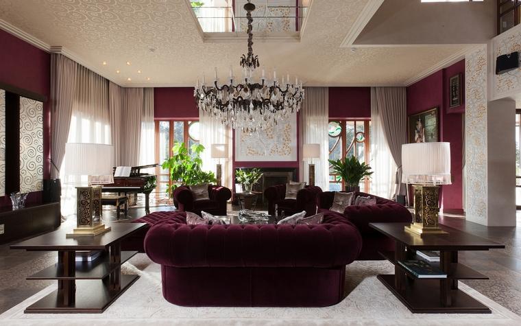 интерьер гостиной - фото № 63444