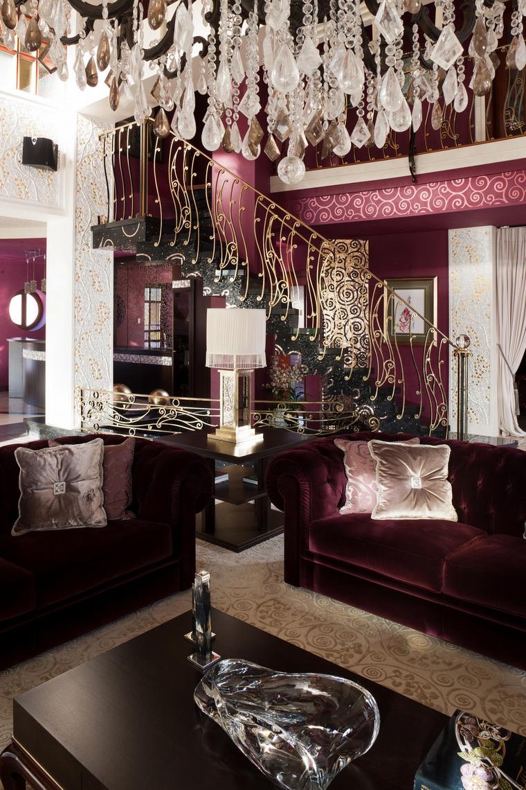 интерьер гостиной - фото № 63442