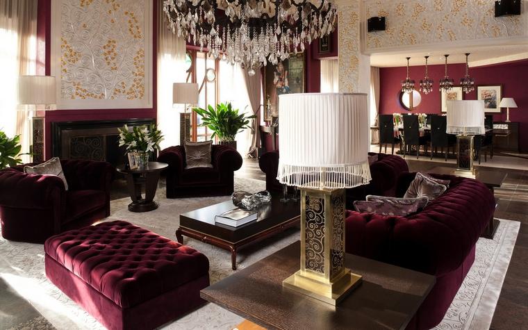 интерьер гостиной - фото № 63443