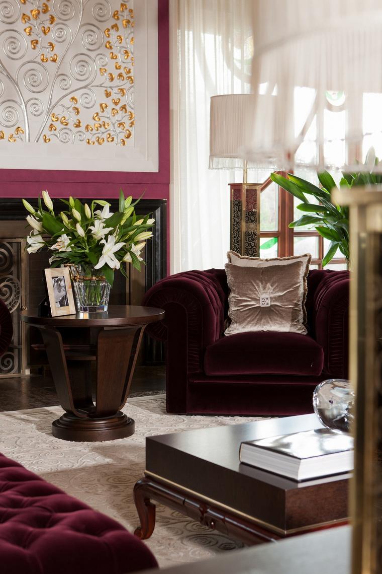 интерьер гостиной - фото № 63448