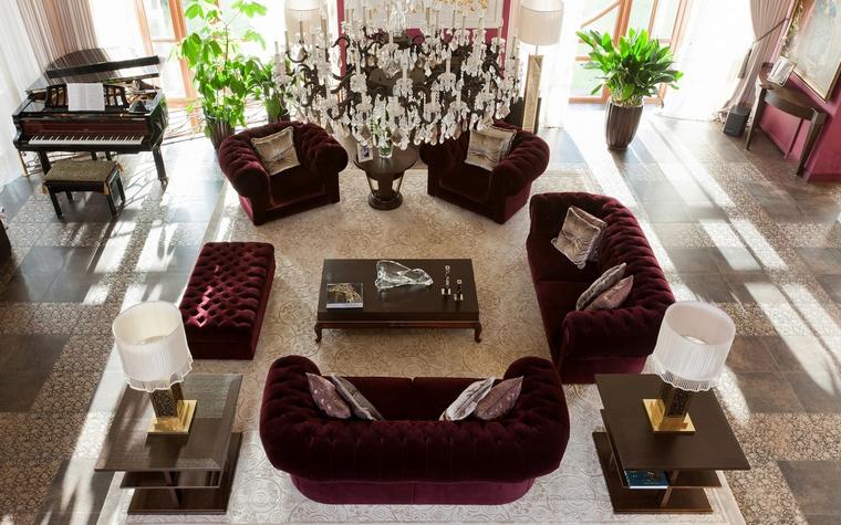 интерьер гостиной - фото № 63449