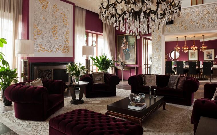 интерьер гостиной - фото № 63445