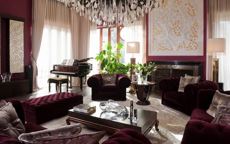 интерьер гостиной - фото № 63450