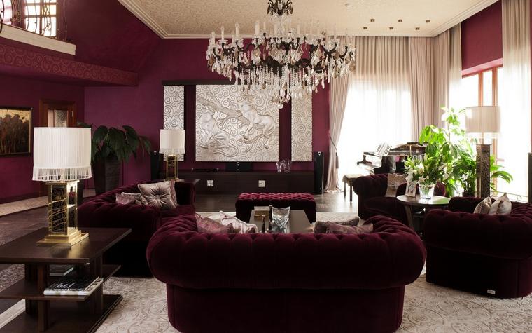 интерьер гостиной - фото № 63446