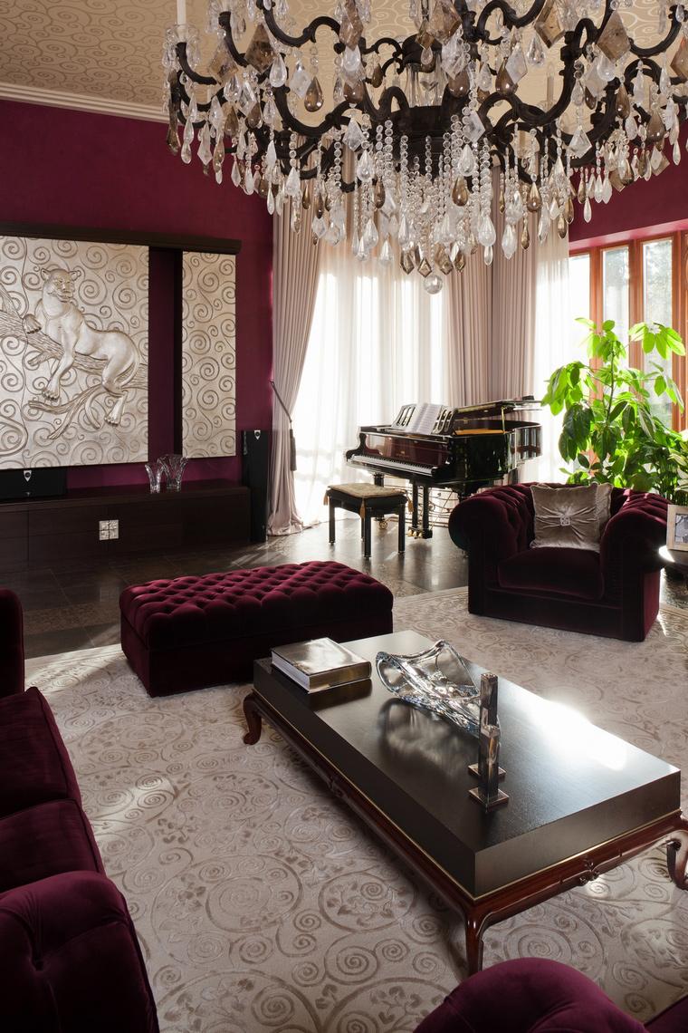 интерьер гостиной - фото № 63447