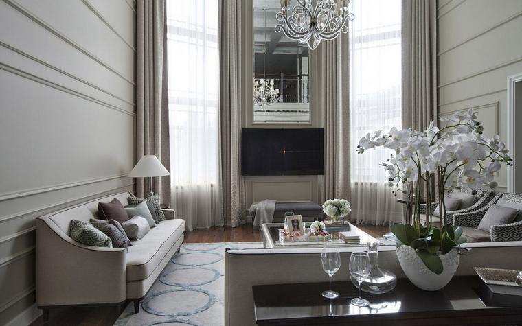 интерьер гостиной - фото № 63674