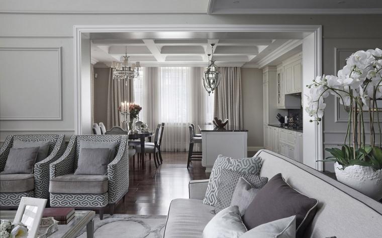 интерьер гостиной - фото № 63677
