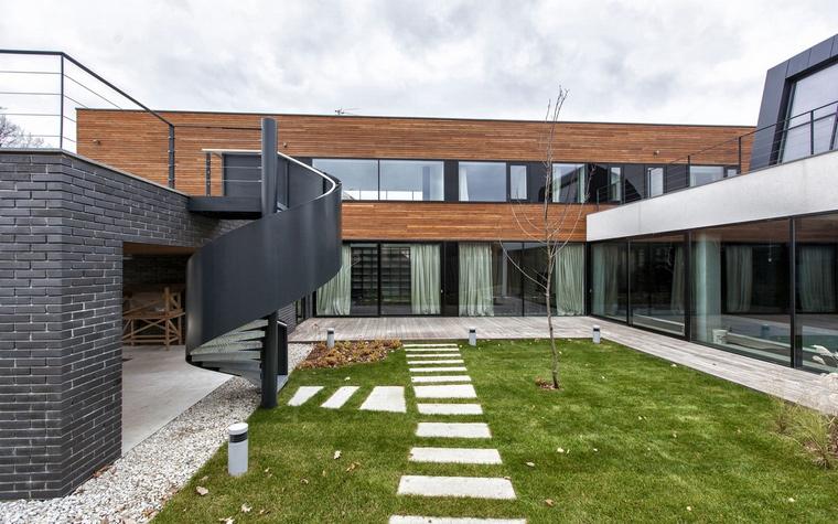 Загородный дом. фасад из проекта , фото №64153
