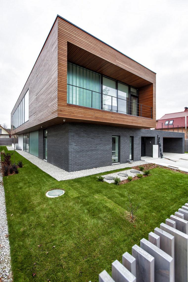 Загородный дом. фасад из проекта , фото №64154